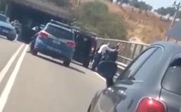 Ss 626, tifosi della paganese fermati dalla Polstrada di Caltanissetta: il video in esclusiva