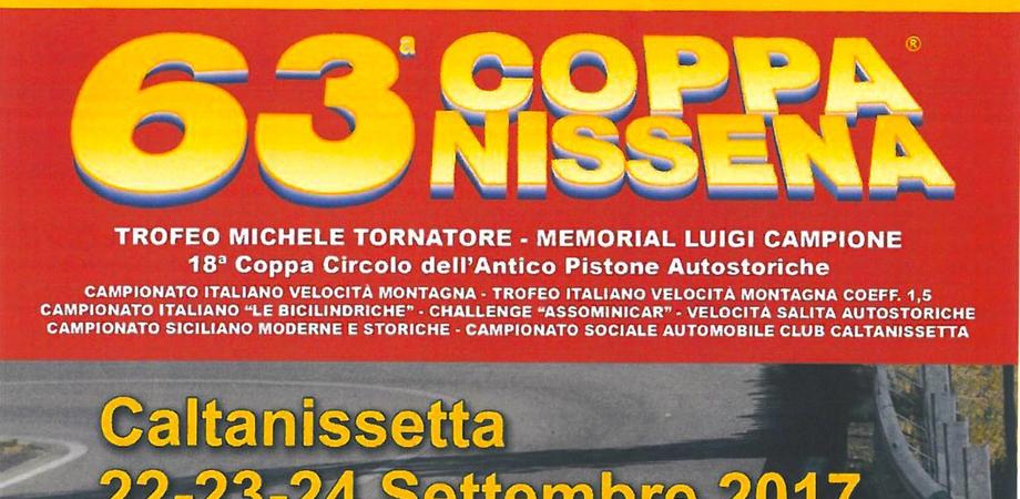 Coppa Nissena, domani la presentazione a Palazzo Moncada