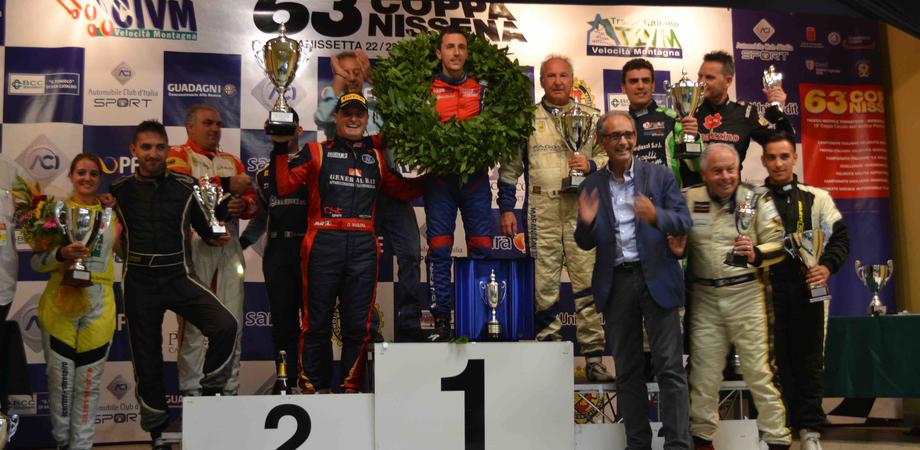 Domenico Scola su Osella vincitore della 63° Coppa Nissena