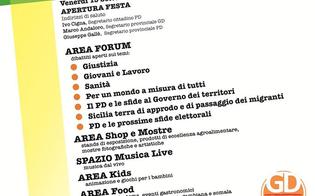 Festa Democratica a Caltanissetta: tre giorni di eventi, cultura e politica