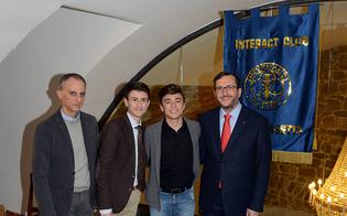 Matteo Canta nuovo presidente dell'Interact Club di Caltanissetta