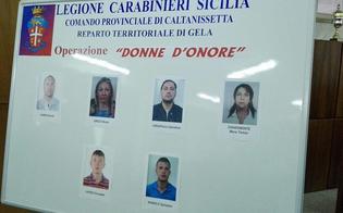 Associazione a delinquere a conduzione familiare: 7 arresti a Gela