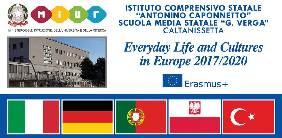 """Caltanissetta, progetto Erasmus Plus alla """"Verga"""": in arrivo docenti da 4 paesi europei"""