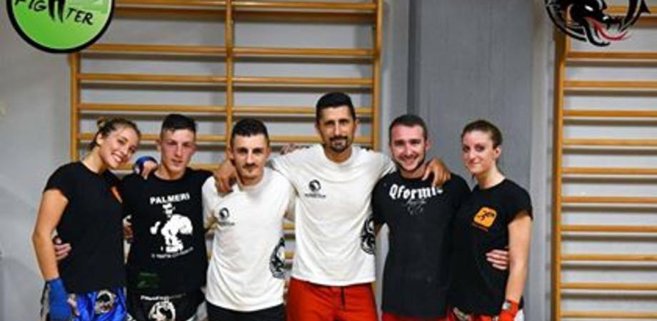 """Quattro atleti della Dragon Gym sul ring del Real Sicily Figheter """"La Finale"""""""