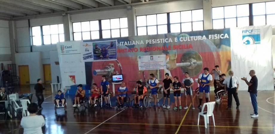 Campionati regionali di pesistica paralimpica: 3 nisseni sul gradino più alto del podio