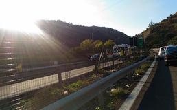 Autostrada A19, tragico incidente a Scillato: morto motociclista, grave la moglie