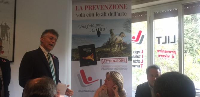 Il ministro Beatrice Lorenzin in visita alla Lilt di Caltanissetta