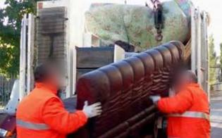 Caltanissetta, ritiro porta a porta rifiuti ingombranti: al via il servizio dal 16 ottobre