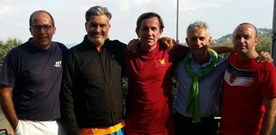 Tennis Club Caltanissetta, formazione maschile conquista promozione in serie D2