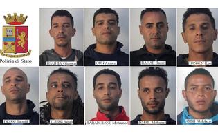 Caltanissetta, rientrano in Italia sotto falso nome: 9 tunisini arrestati dalla polizia