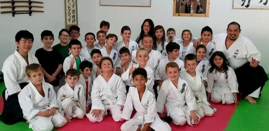 Alla scuola Samurai Dojo di Caltanissetta ospite il maestro Ueda Kazumichi Sensei