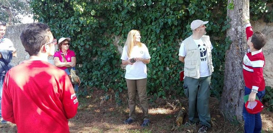 """Caltanissetta, """"Urban Nature"""" al parco Dubini: tanti partecipanti alla scoperta della biodiversità"""