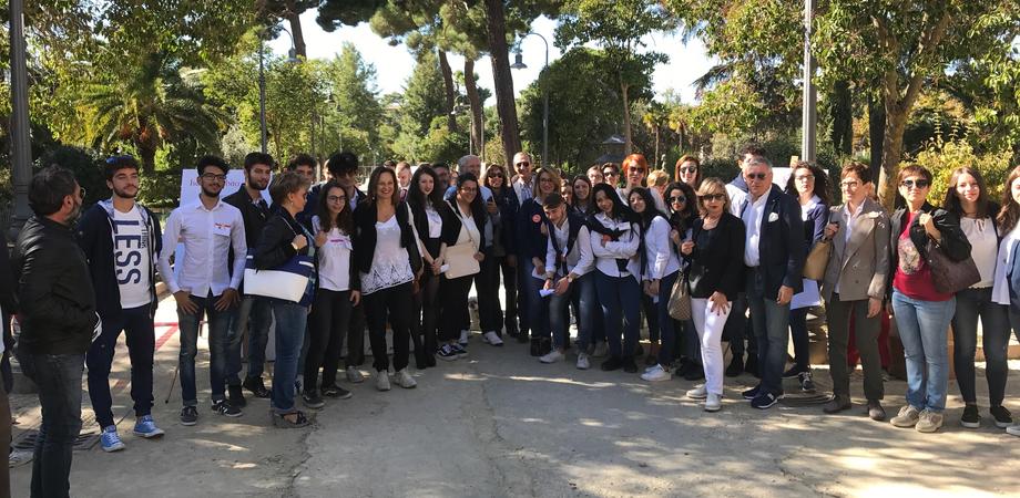 Villa Amedeo, successo per la giornata Fai d'Autunno a Caltanissetta