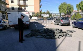 Furto di cavi di rame dalla rete elettrica nazionale. Arrestati a Riesi, tre rumeni e due palermitani