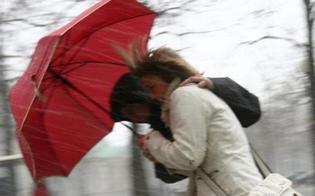 Allerta meteo della Protezione Civile: in Sicilia arrivano pioggia e burrasca