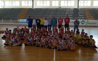 Minibasket regionale: a Trapani anche una rappresentativa nissena