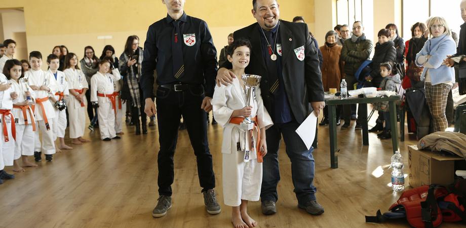 A Caltanissetta esami e Coppa Karate Kyokushinkai per 60 Samurai