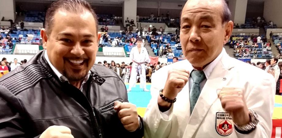 Il maestro nisseno Alfonso Torregrossa in Giappone per insegnare autodifesa militare