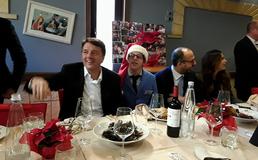 Matteo Renzi sul ristosolidale di San Cataldo: