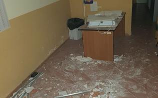 Palermo, crolla soffitto di un Pta: ferito il medico che stava visitando