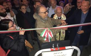 Caltanissetta, la Strata 'a Foglia rinasce: pienone per il taglio del nastro della 6 attività