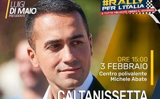 Luigi Di Maio a Caltanissetta per una tappa del #Rally per l'Italia