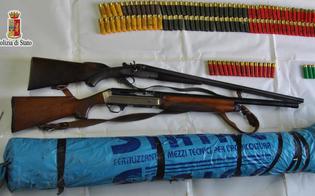 Armi e munizioni pronte per essere utilizzate: 21enne di Niscemi arrestato dalla polizia