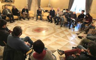 Brainstorming degli assessori Guarino e Tornatore con 50 giovani eccellenti