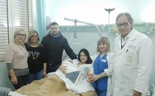A Caltanissetta è Giulia la prima nata dell'anno. Elia invece chiude il 2017