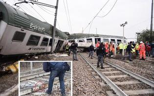 Treno deragliato a Milano, 3 morti e 5 feriti gravi. I tecnici: