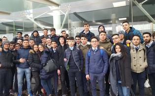 """Studenti del """"Majorana"""" di Gela in visita alla Torre di Controllo dell'aeroporto di Fontanarossa"""