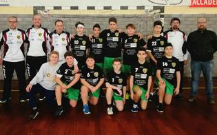 Quadrangolare di pallamano: la Handball San Cataldo si aggiudica due vittorie
