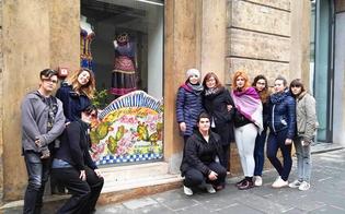 Leandro Janni sulle vetrine allestite in centro storico: