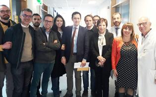 L'assessore Razza visita l'ospedale di Niscemi, disposto un piano di rilancio e potenziamento dei servizi