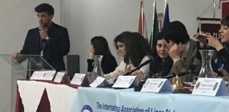 Leo Club Sicilia, il gelese Francesco Cuvato eletto nel collegio dei revisori dei conti