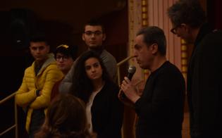 """Gli studenti del """"Luigi Russo"""" alla proiezione esclusiva del film"""