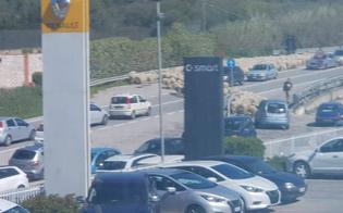Caltanissetta, gregge di pecore attraversa la Ss 640: traffico in tilt