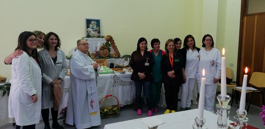 Tavolata di San Giuseppe al Centro Diurno Alzheimer dell'Asp di Caltanissetta