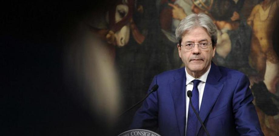 """Guerra in Siria, Gentiloni: """"L'Italia non parteciperà ad azioni militari"""""""