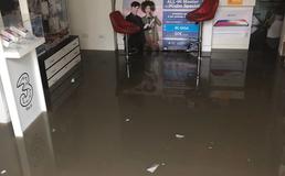 Temporale a Caltanissetta: auto trascinate dall'acqua, negozi e scantinati allagati
