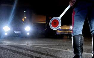 Caltanissetta, ubriaco al volante fugge all'alt della Polizia Stradale: 24enne inseguito e denunciato