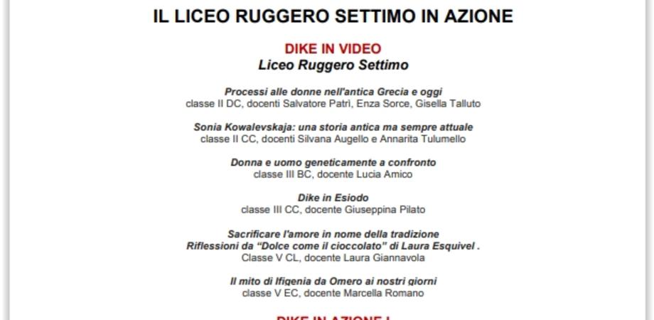 """Al teatro Rosso di San Secondo il liceo """"Ruggero Settimo"""" con """"Dike donna: giustizia contro"""""""