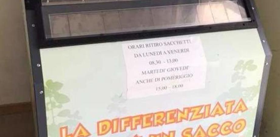 """Caltanissetta, raccolta differenziata """"porta a porta"""": stop domani alla distribuzione dei sacchi"""