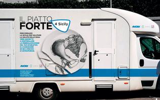 Osteoporosi, a Caltanissetta arriva il camper della prevenzione: visite gratuite per due giorni