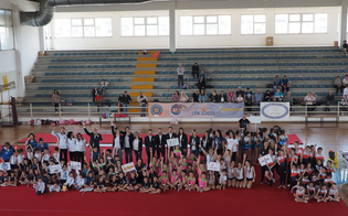 Al Palacannizzaro manifestazione di Ginnastica Artistica con oltre 250 atleti