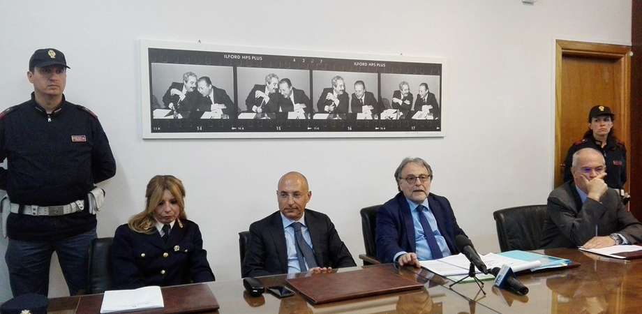 """Montante da paladino dell'antimafia all'arresto: i particolari dell'operazione """"Double Face"""" nella conferenza stampa"""