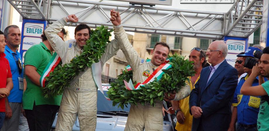 Targa Florio: il duo nisseno Lombardo-Spiteri si aggiudica il Rally Regionale
