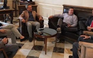 Incontro fra Anas e Comune, consegnato il progetto definitivo per la discarica Stretto Giordano