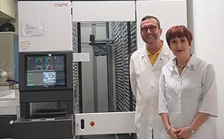 La farmacia Maira di San Cataldo all'avanguardia: installato nuovo robot