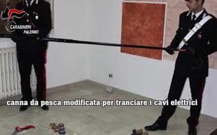 Canne da pesca per rubare il rame, sgominata banda a Cefalù: furti anche a Caltanissetta